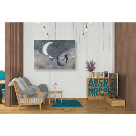 'Celestial Love I' by Victoria Borges Giclee Canvas Wall Art