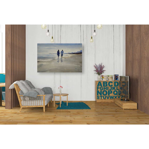 'Leisure' by Oscar Alvarez Pardo, Giclee Canvas Wall Art
