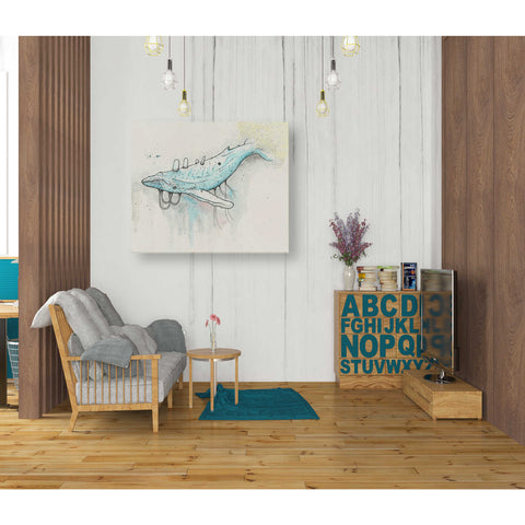 "Image of ""Whale"" by Craig Snodgrass, Giclee Canvas Wall Art"