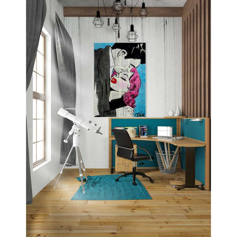 Image of 'Pop Lovers' by Loui Jover, Giclee Canvas Wall Art