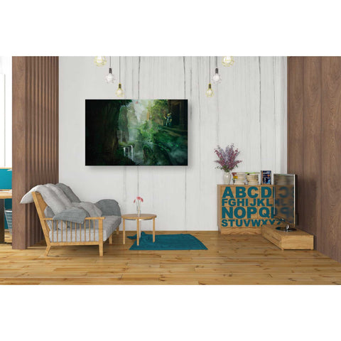 Image of 'Dragon Valley' by Jonathan Lam, Giclee Canvas Wall Art