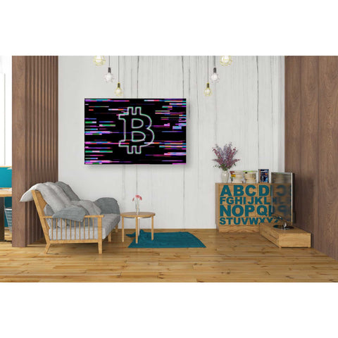 'Bitcoin Life' Giclee Canvas Wall Art
