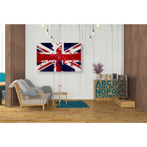 Image of 'United Kingdom' Canvas Wall Art,26 x 40