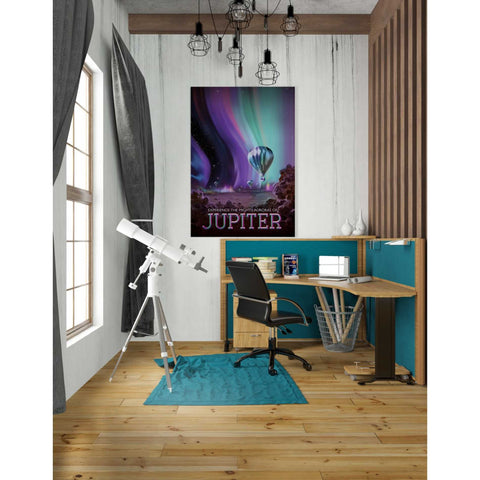 Image of 'Visions of the Future: Jupiter' Canvas Wall Art,26 x 40