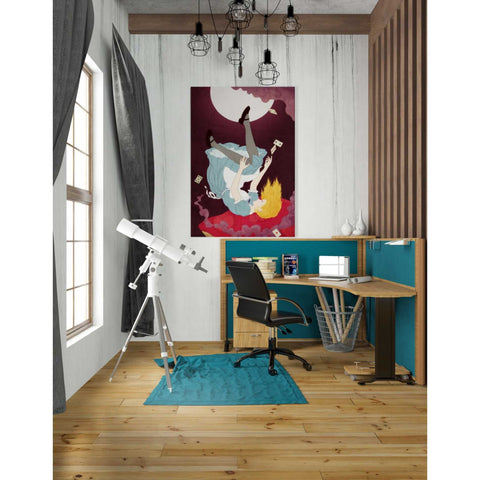'Alice in Wonderland' by Sai Tamiya, Giclee Canvas Wall Art