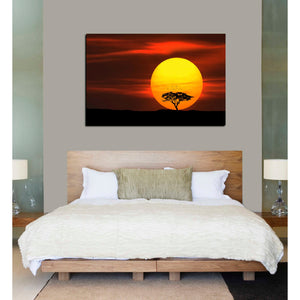 """Circle of Life"" Giclee Canvas Wall Art"