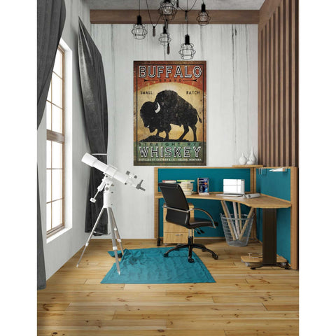 'Buffalo Whiskey' by Ryan Fowler, Giclee Canvas Wall Art