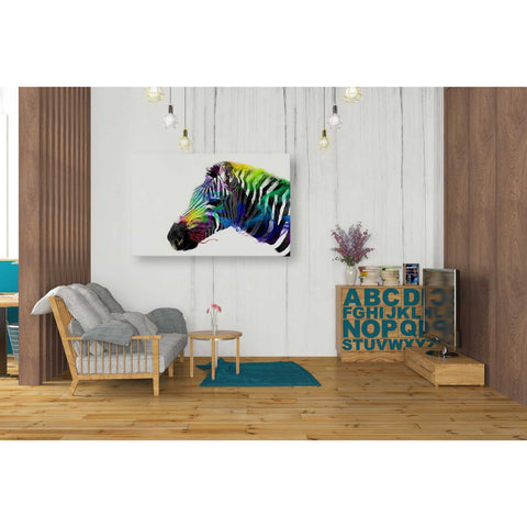 Image of 'Zebra' by Karen Smith, Giclee Canvas Wall Art