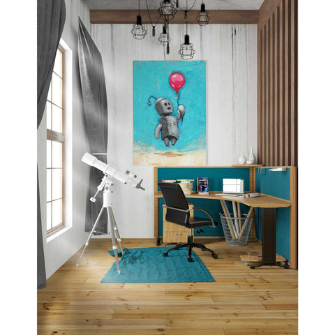 Image of 'Bot Balloon' by Craig Snodgrass, Canvas Wall Art,26 x 40