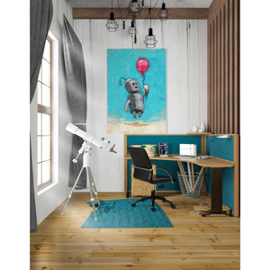 'Bot Balloon' by Craig Snodgrass, Canvas Wall Art,26 x 40