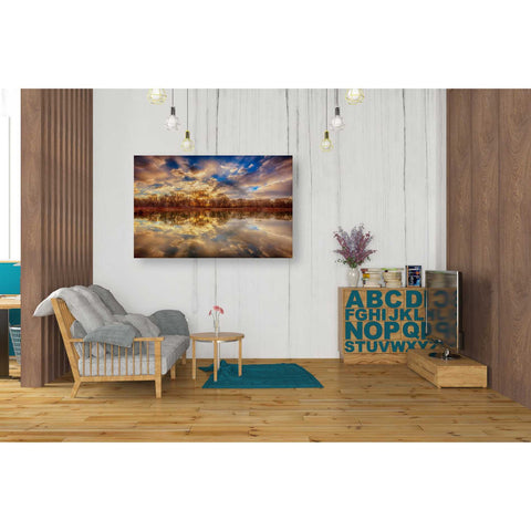 Image of 'Chatfield Sunrise' by Darren White, Canvas Wall Art,26 x 40
