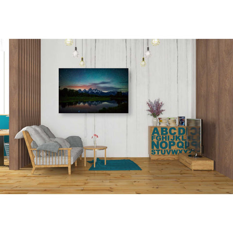 Image of 'Schwabacher Nights' by Darren White, Canvas Wall Art,26 x 40