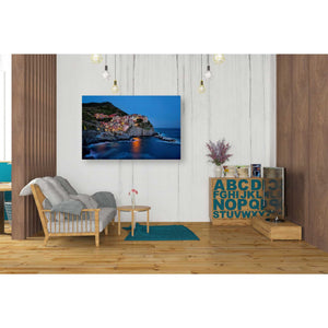 """Riviera,"" Giclee Canvas Wall Art"