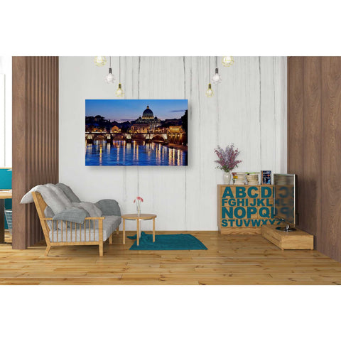 """Evening Reflections,"" Giclee Canvas Wall Art"