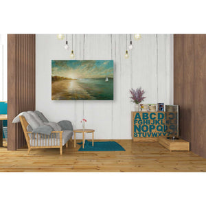 'Coastal Glow' by Danhui Nai, Canvas Wall Art,26 x 40
