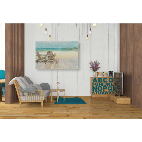 "Image of ""Seaside Morning"" by Danhui Nai, Giclee Canvas Wall Art"