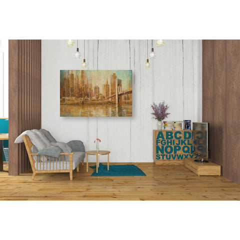 "Image of ""Champagne City"" by Danhui Nai, Giclee Canvas Wall Art"