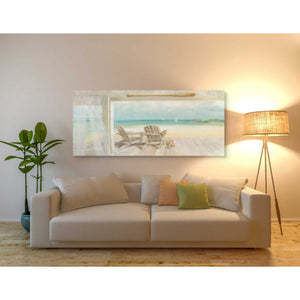 'Seaside Morning' by Danhui Nai, Canvas Wall Art,30 x 60