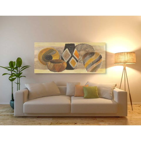 Image of 'Swirling Still Life' by Albena Hristova, Canvas Wall Art,60 x 30