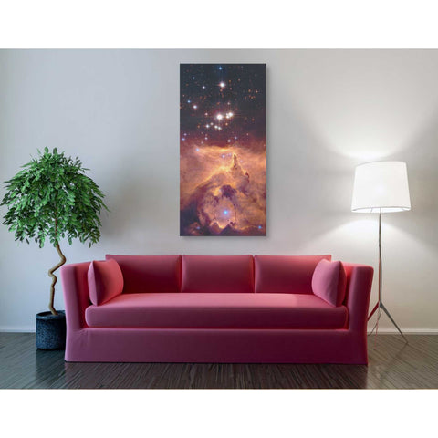 """Star Crossed"" Hubble Space Telescope Giclee Canvas Wall Art"