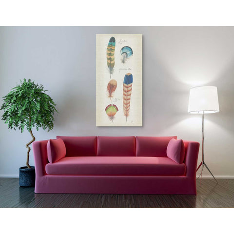 Image of 'Ornithology III Panel' by Daphne Brissonet, Giclee Canvas Wall Art