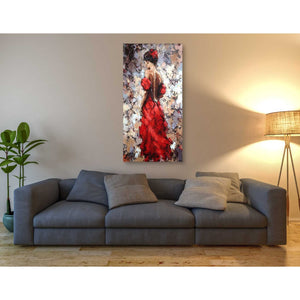 'Baile' by Alexander Gunin, Canvas Wall Art,30 x 60