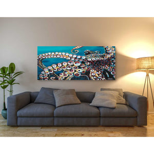 'Wild Octopus I' by Carolee Vitaletti Giclee Canvas Wall Art