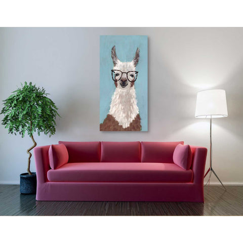 Image of 'Llama Specs I' by Victoria Borges Giclee Canvas Wall Art