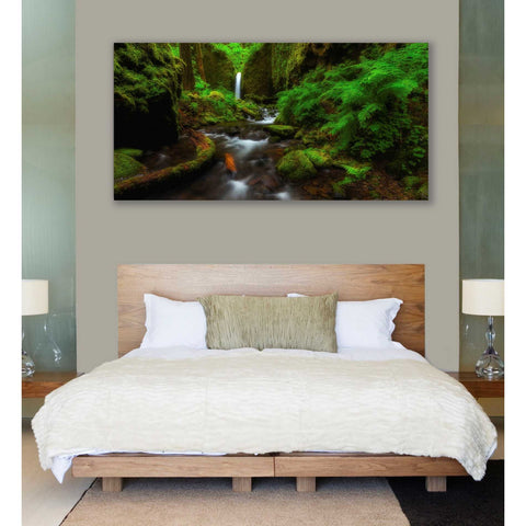 Image of 'Early Morning At The Grotto' by Darren White, Canvas Wall Art,30 x 60