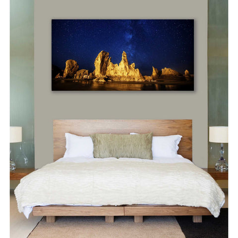 "Image of ""Oregon Nights"" by Darren White, Giclee Canvas Wall Art"