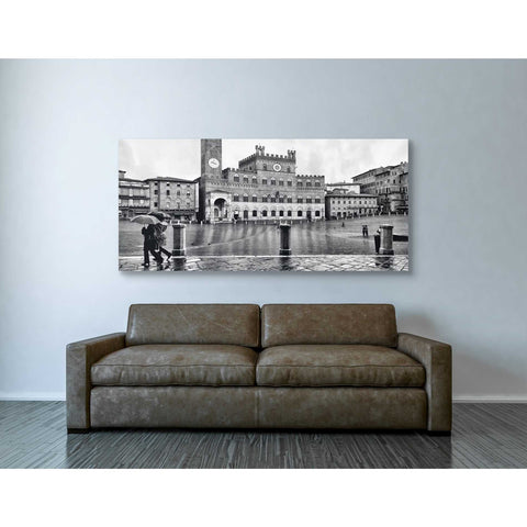 """At Main Square,"" Giclee Canvas Wall Art"