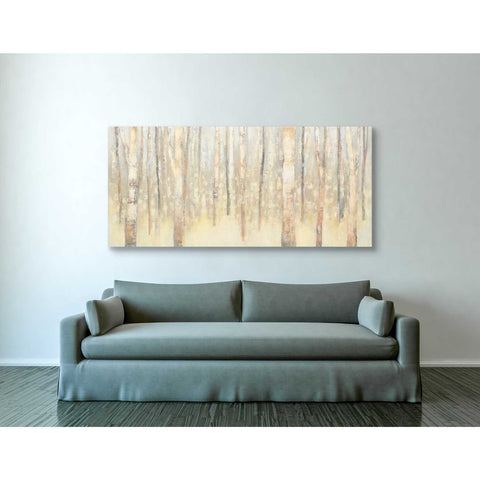 """Birches In Winter"" by Julia Purinton, Giclee Canvas Wall Art"