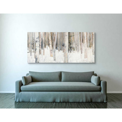 "Image of ""Warm Winter Light III"" by Julia Purinton, Giclee Canvas Wall Art"