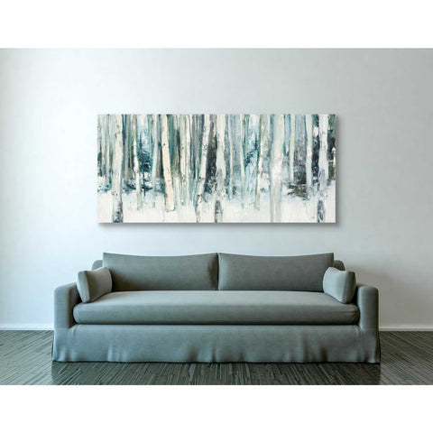 """Winter Woods III Light Trees"" by Julia Purinton, Giclee Canvas Wall Art"