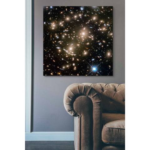 'Abell 370' Hubble Space Telescope Giclee Canvas Wall Art