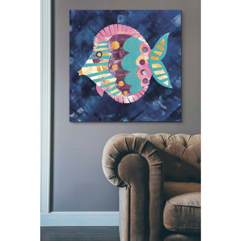 Image of 'Boho Reef IV' by Wild Apple Portfolio, Giclee Canvas Wall Art