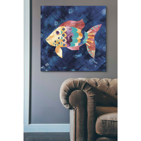 Image of 'Boho Reef VI' by Wild Apple Portfolio, Giclee Canvas Wall Art