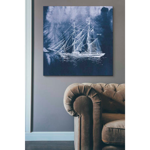 'Sailing Ships IV' by Wild Apple Portfolio, Giclee Canvas Wall Art