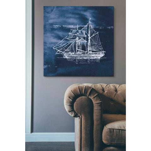 'Sailing Ships V' by Wild Apple Portfolio, Giclee Canvas Wall Art