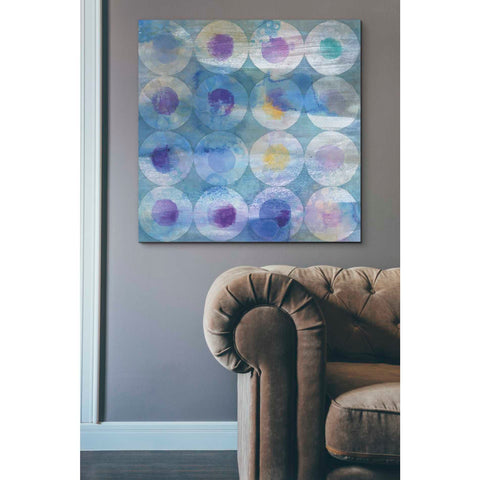 """Touching Circles III"" by Danhui Nai, Giclee Canvas Wall Art"