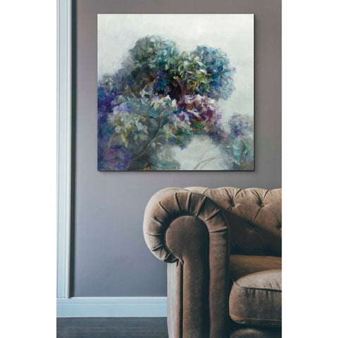 Image of 'Abstract Hydrangea' by Danhui Nai, Canvas Wall Art,37 x 37
