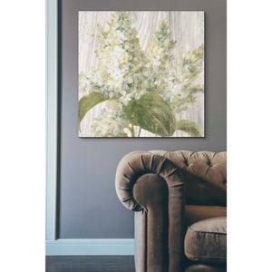 """Scented Cottage Florals II Crop"" by Danhui Nai, Giclee Canvas Wall Art"