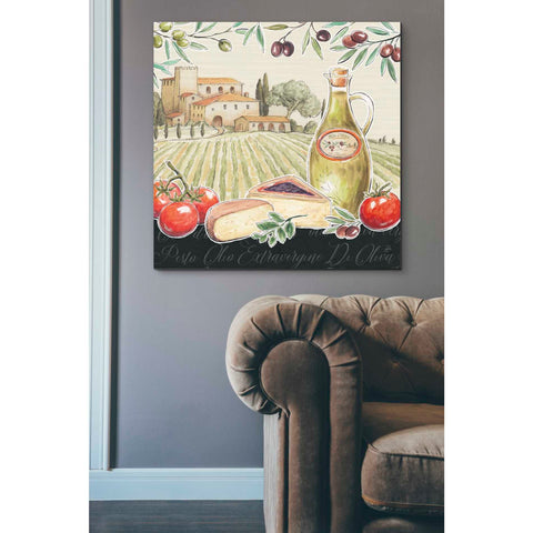 Image of 'Tuscan Flavor III' by Daphne Brissonet, Giclee Canvas Wall Art