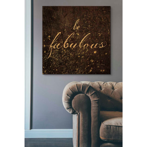 Image of 'Shoe Fetish Quotes I' by Emily Adams, Giclee Canvas Wall Art