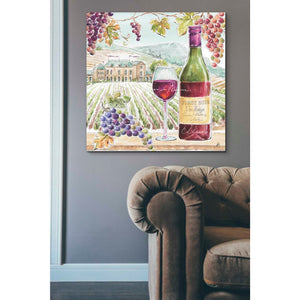 'Wine Country IV' by Daphne Brissonet, Giclee Canvas Wall Art