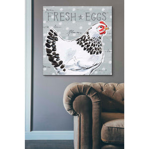 'Roosters Call II' by Daphne Brissonet, Giclee Canvas Wall Art