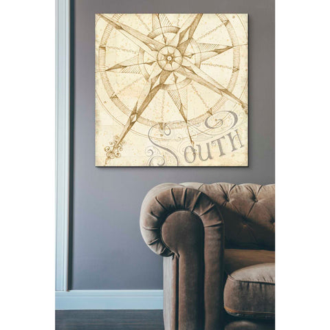 Image of 'Coast to Coast Sepia II' by Daphne Brissonet, Giclee Canvas Wall Art