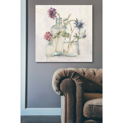 'Blossoms on Birch II' by Cheri Blum, Giclee Canvas Wall Art