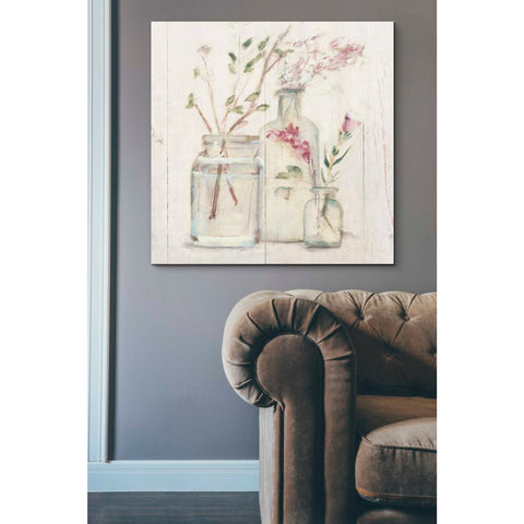 'Blossoms on Birch VI' by Cheri Blum, Giclee Canvas Wall Art
