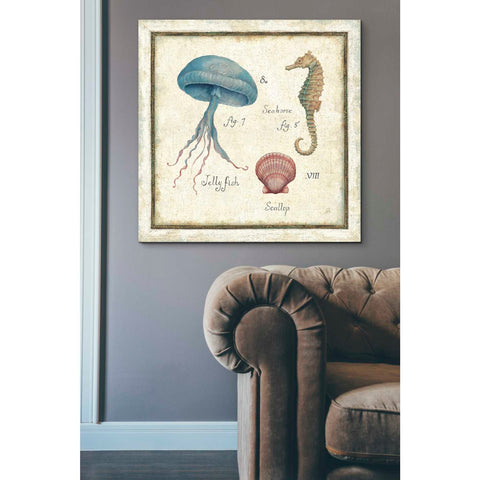 Image of 'Oceanography III' by Daphne Brissonet, Giclee Canvas Wall Art